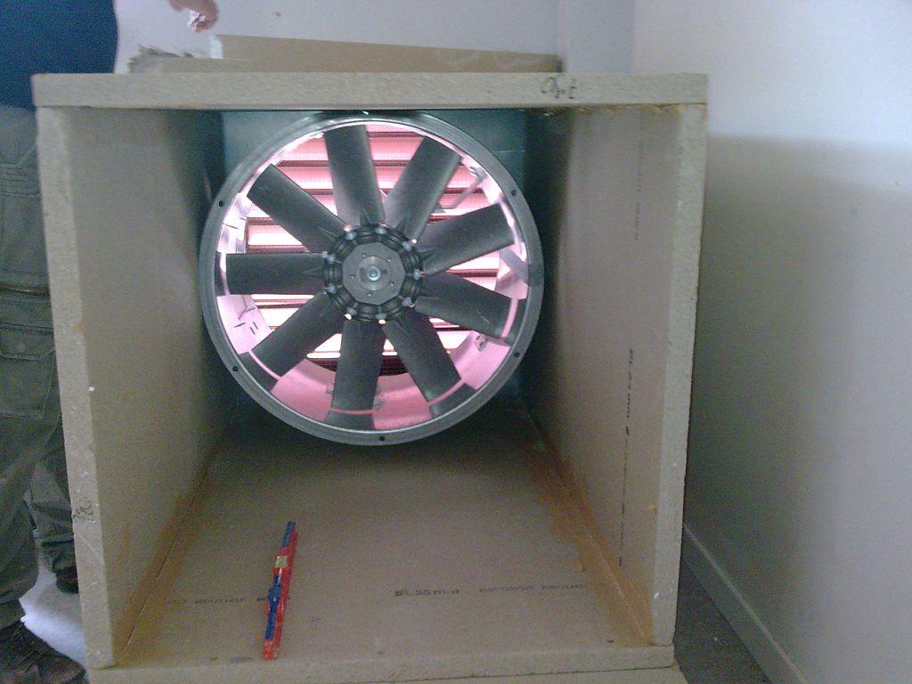 Intégration d'un moteur axial dans un conduit CF horizontal
